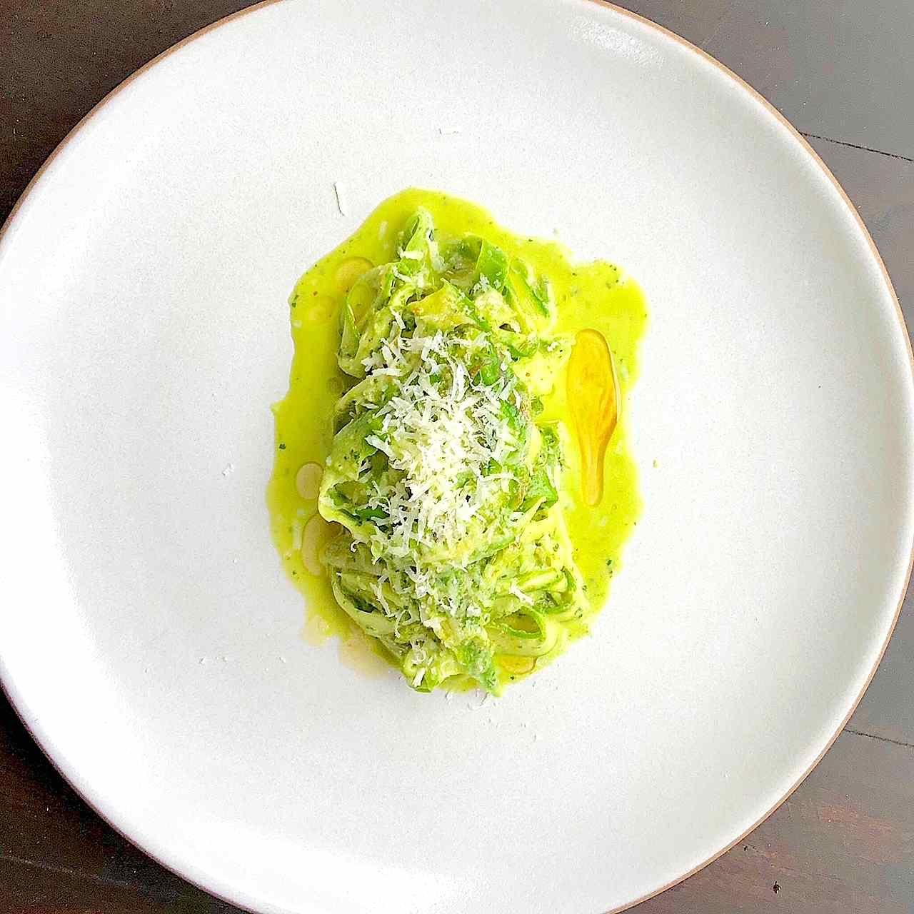 asparagus pesto pasta recipe