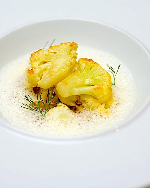 Cauliflower and Truffle