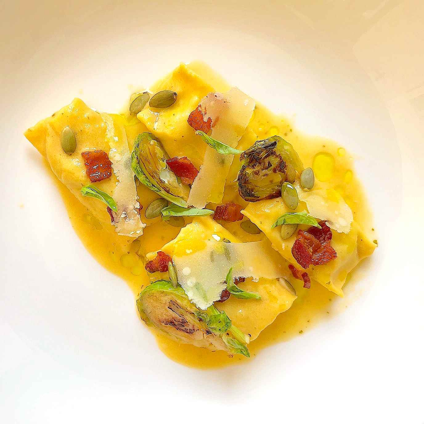 Acorn Squash Agnolotti recipe