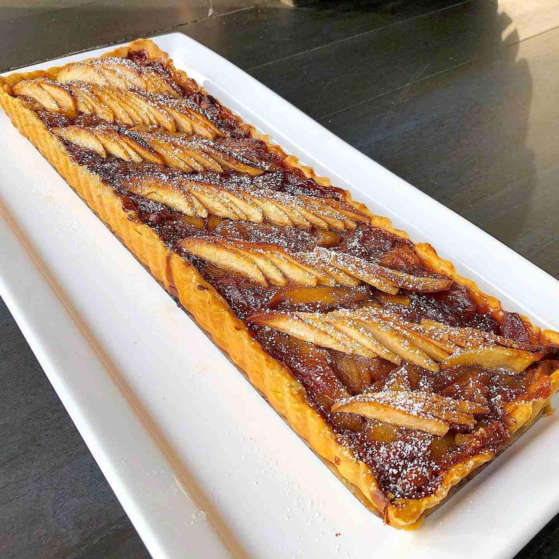 apple almond tart recipe