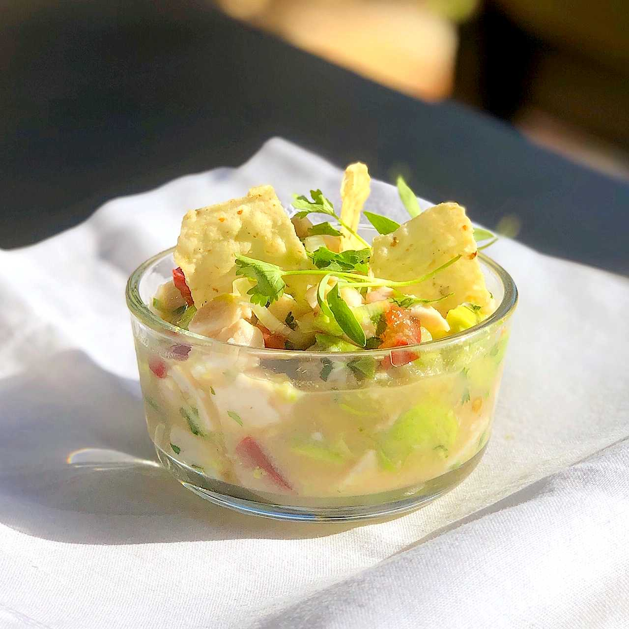 Ceviche recipe with wild sea bass