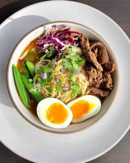Beef Ramen Bowl recipe
