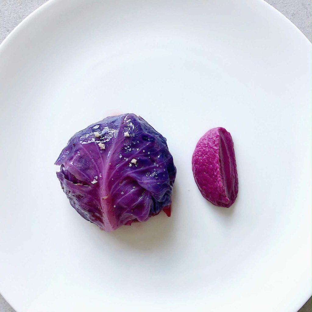 Stuffed Cabbage recipe with truffle