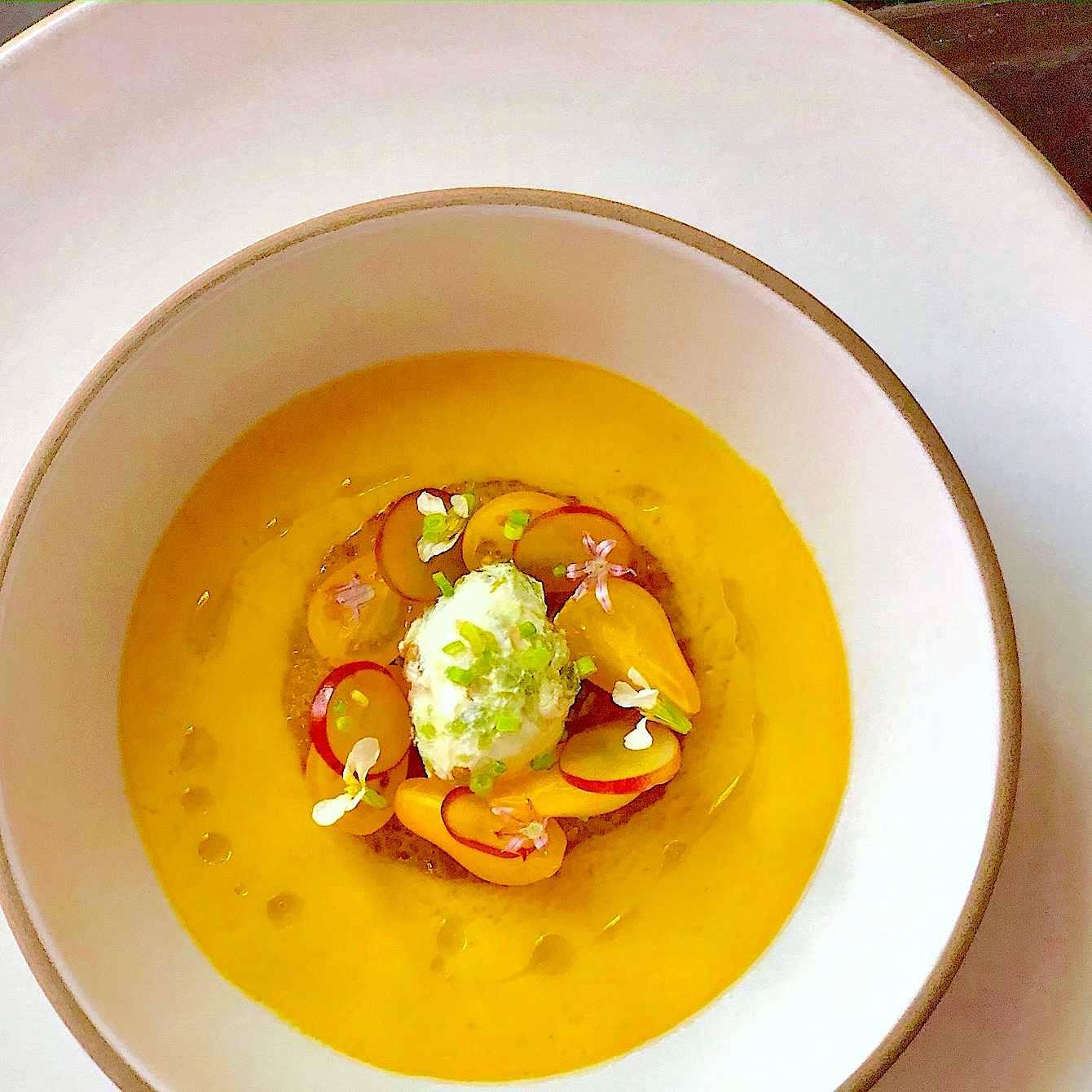 gazpacho recipe with Yellow squash