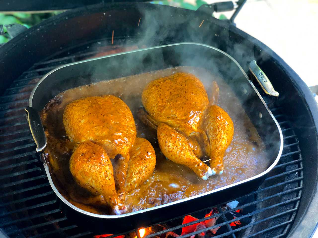 Chile roasted chicken