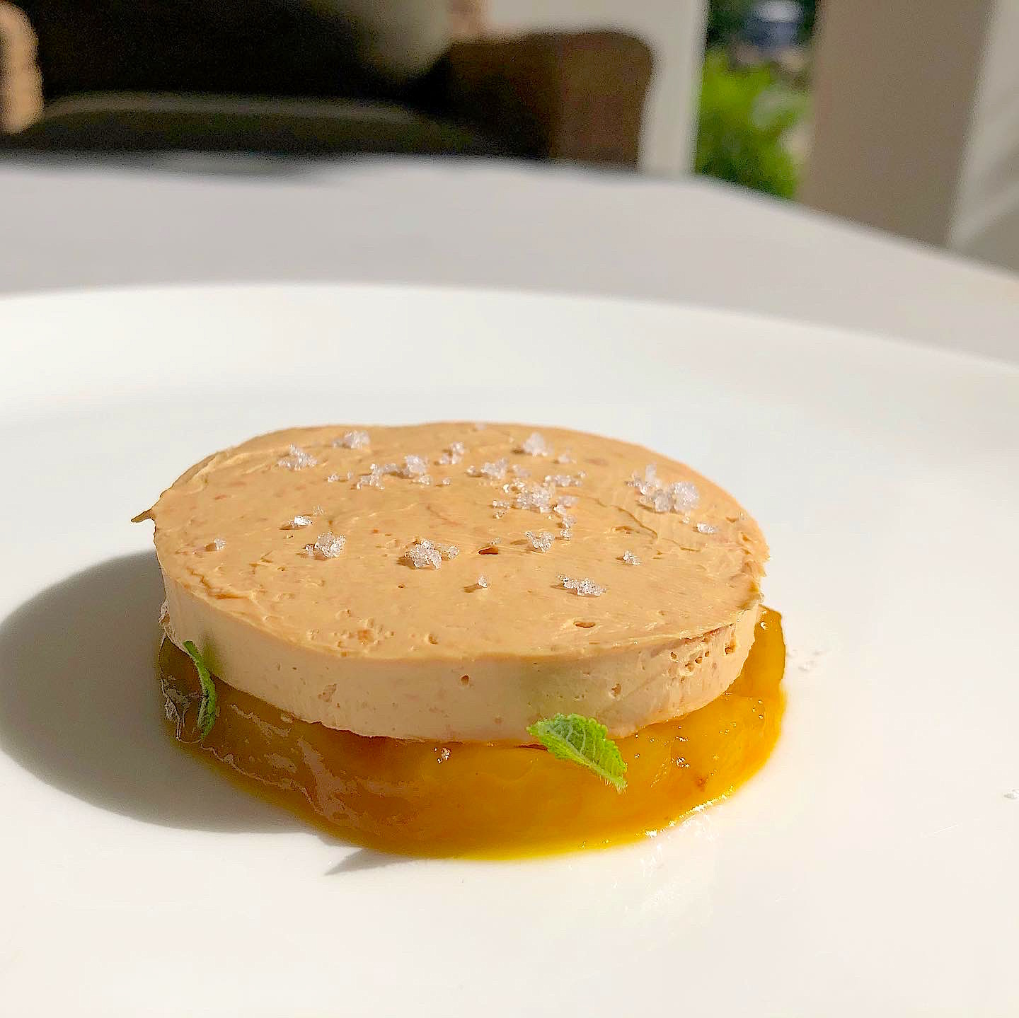 Foie Gras Torchon with Pineapple Jalapeno Jam