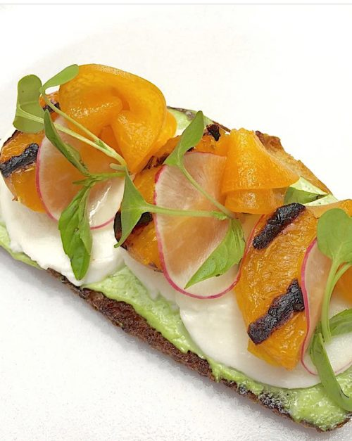 grilled apricot bruschetta recipe