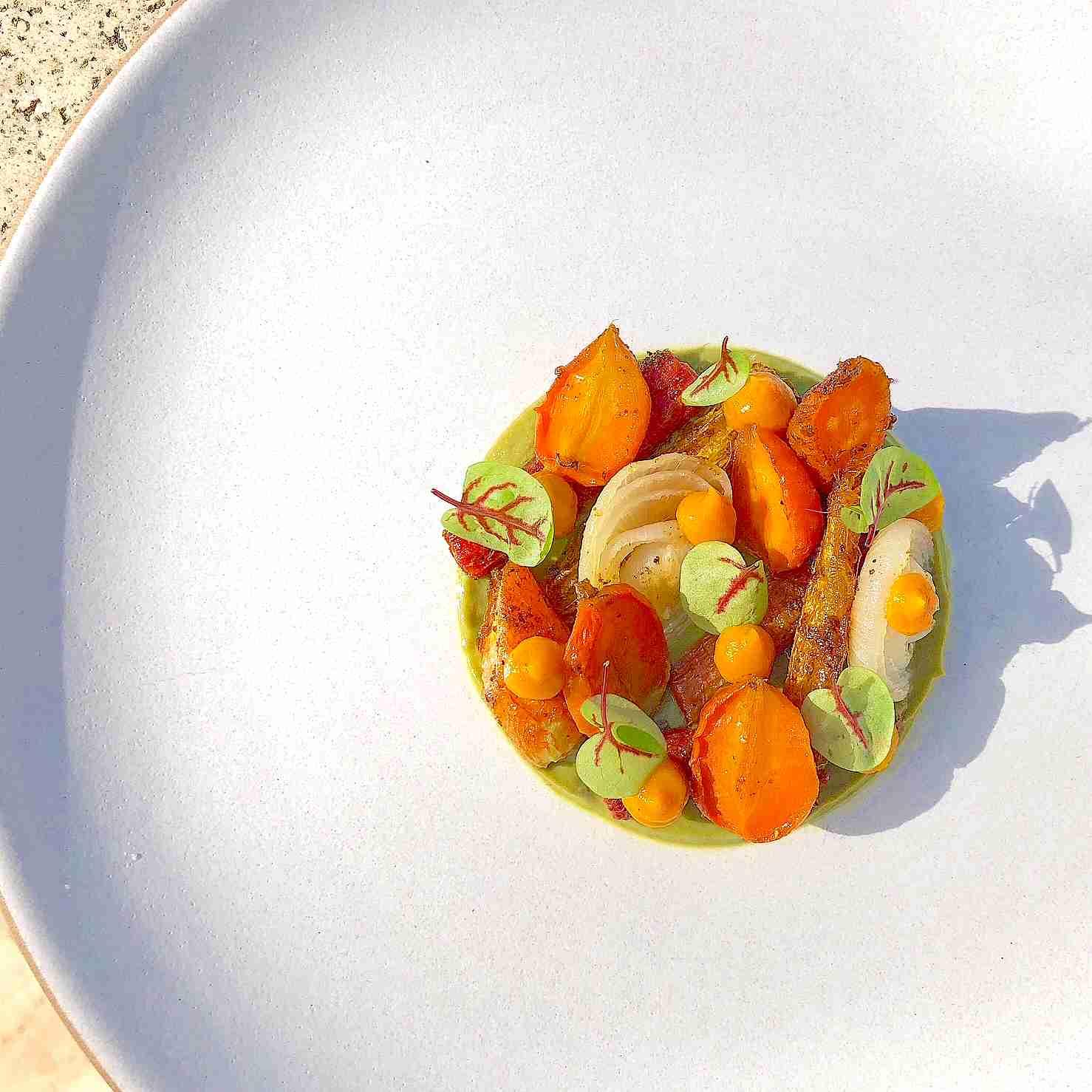 Roasted Carrots recipe, Cipollini, and Turmeric