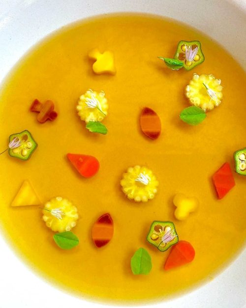 Consomme soup Recipe