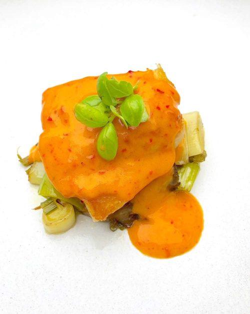 Black Cod recipe with Kimchi