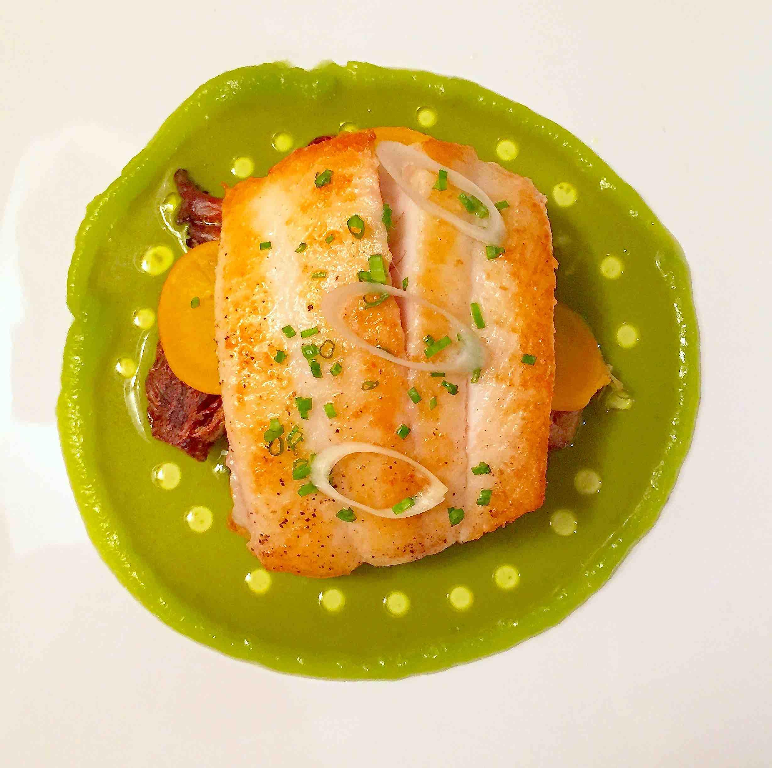 petrale sole recipe with green garlic