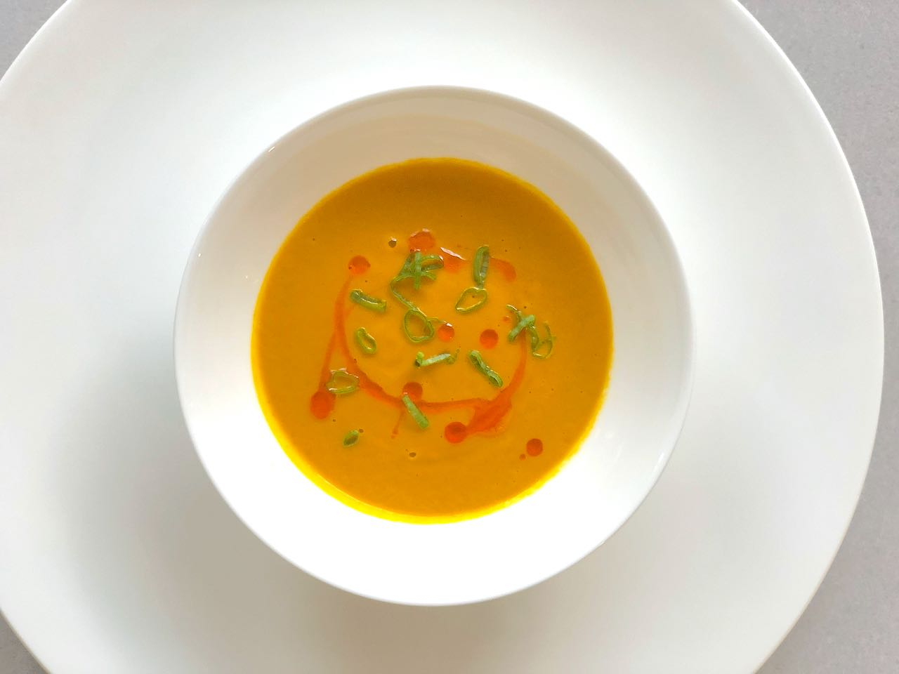 Carrot Soup Recipe with Curry