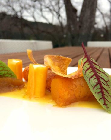 Butternut Squash recipe with Lemon and Ricotta