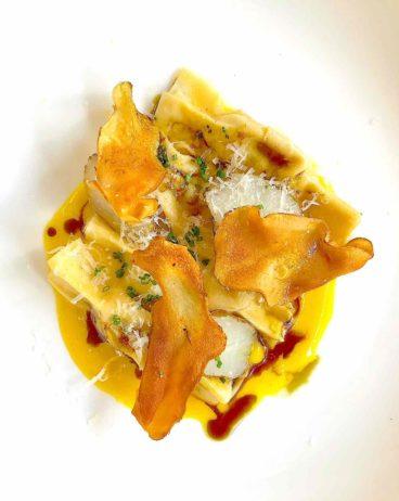 Scarpinocc Pasta with Sunchoke