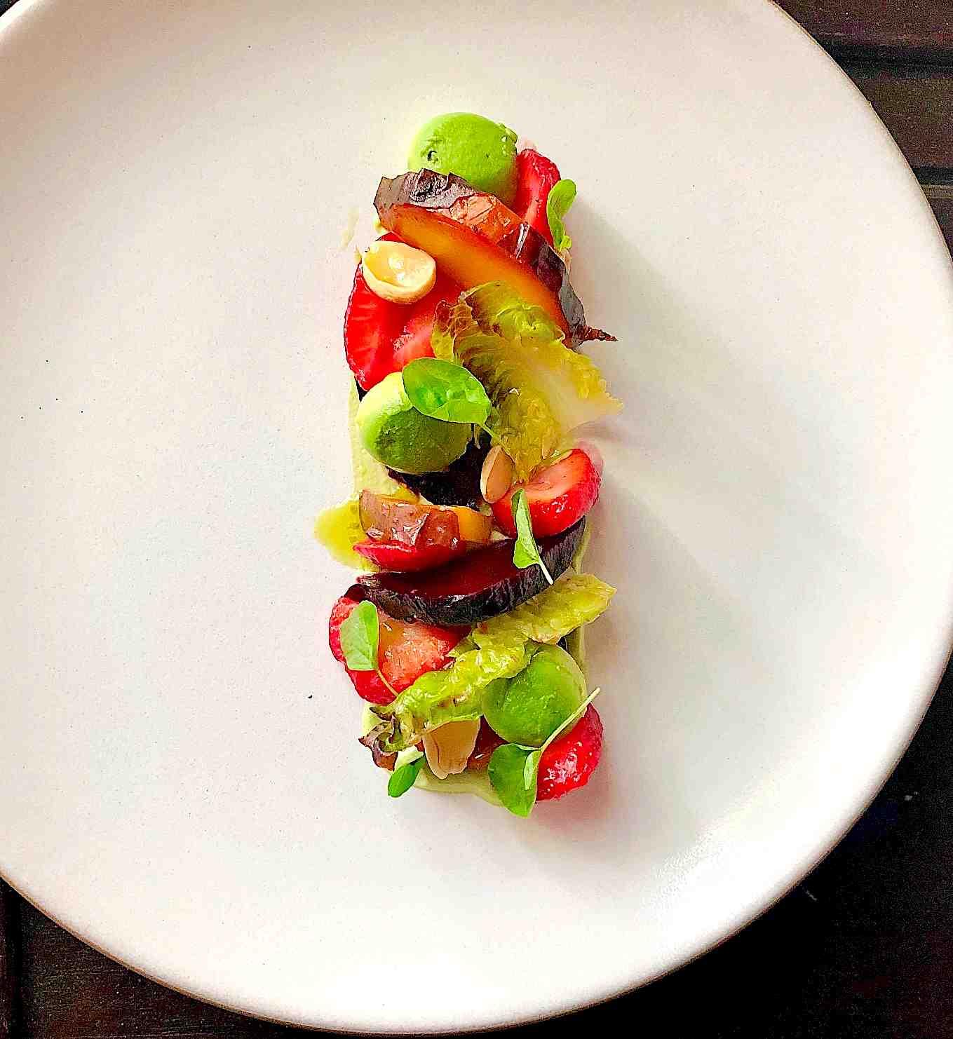 strawberry beet salad recipe