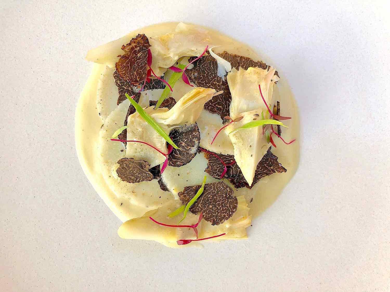 Artichoke recipe with Black Truffle