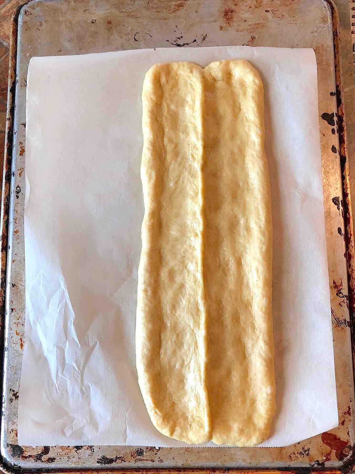 enriched sweet dough