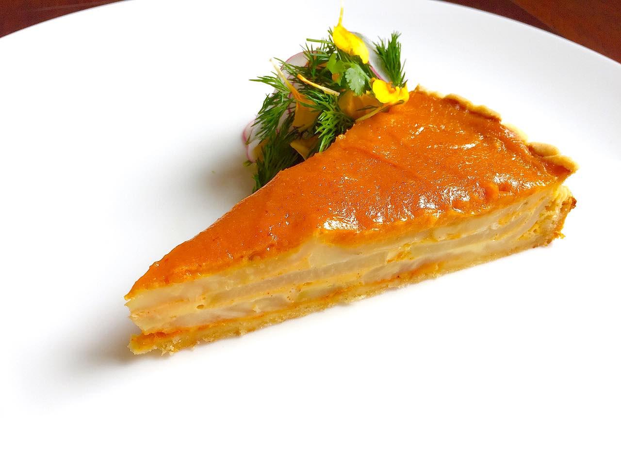 Miso Celeriac Tart