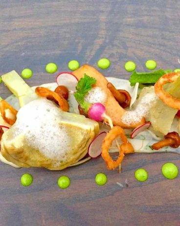 Artichoke with Mushroom Conserva