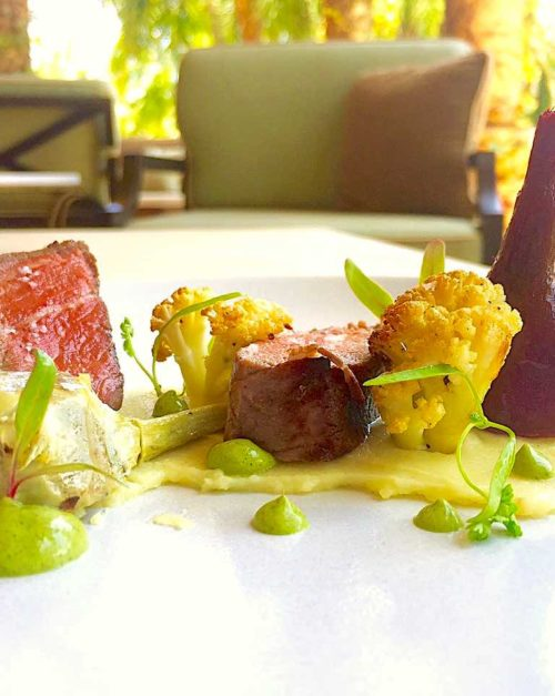 Beef Tenderloin with Huacatay