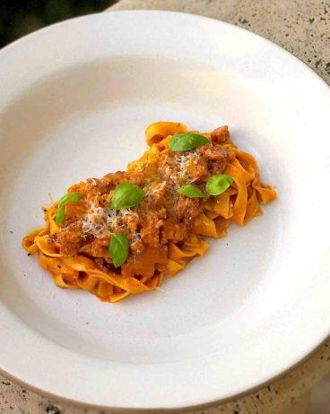 bolognese pasta recipe