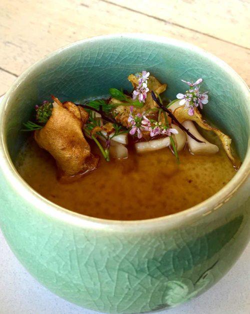 sunchoke chawanmushi