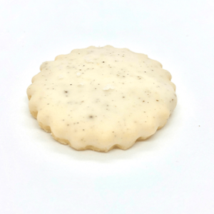 vanilla and sea salt shortbread cookies
