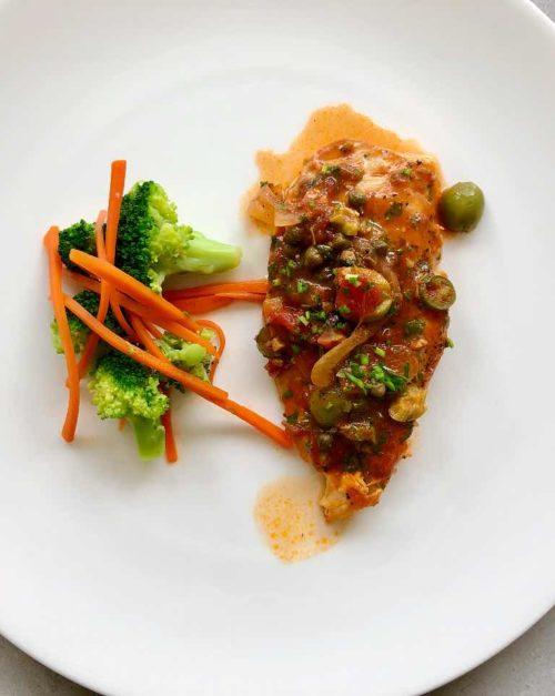 chicken veracruz recipe