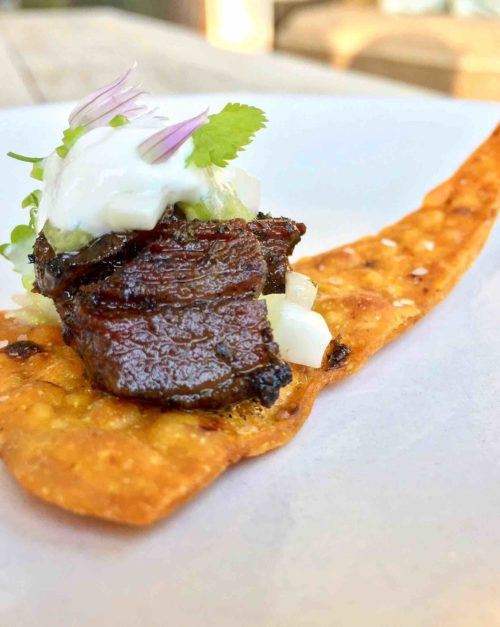 Indian duck nacho recipe with yogurt