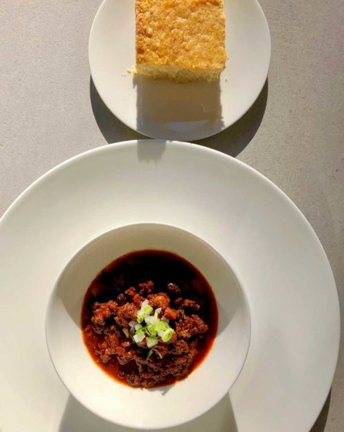 spicy chili recipe with cornbread