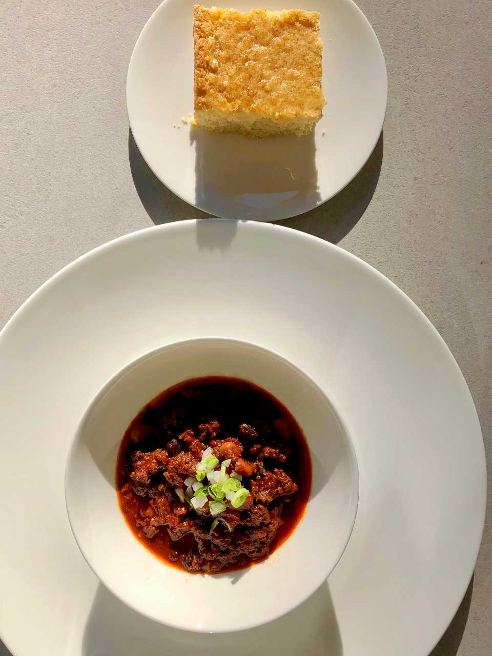 spicy chili recipe with cornbread