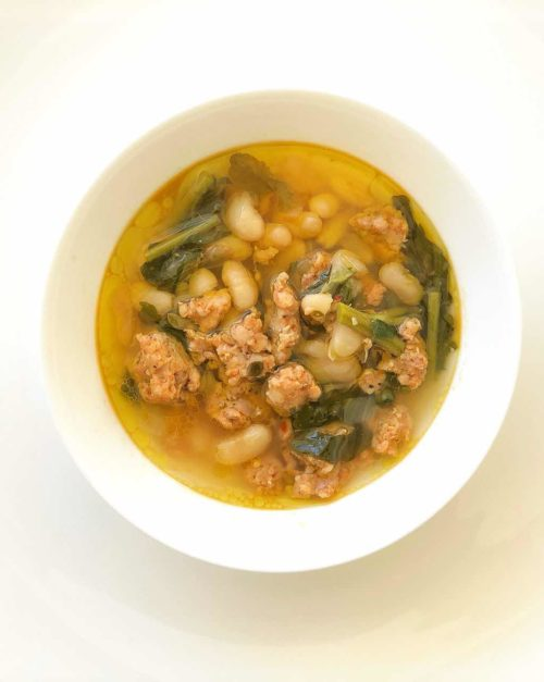 white bean soup recipe with Italian sausage