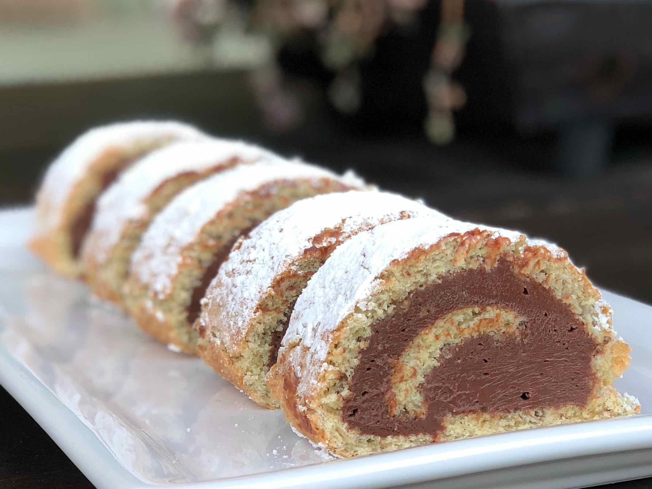 Nutella Swiss Roll Recipe