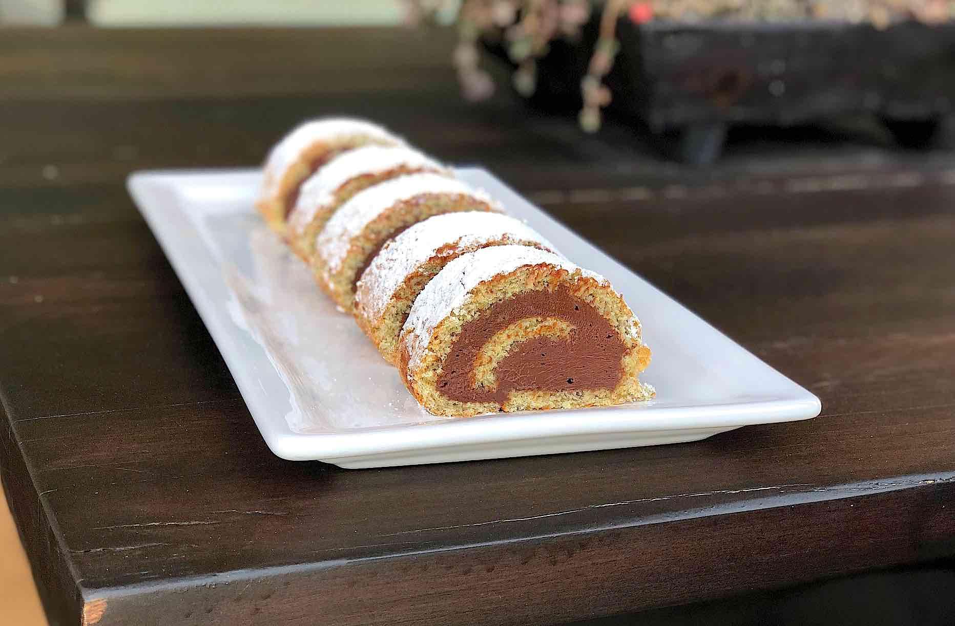 Nutella Cream cheese Roll