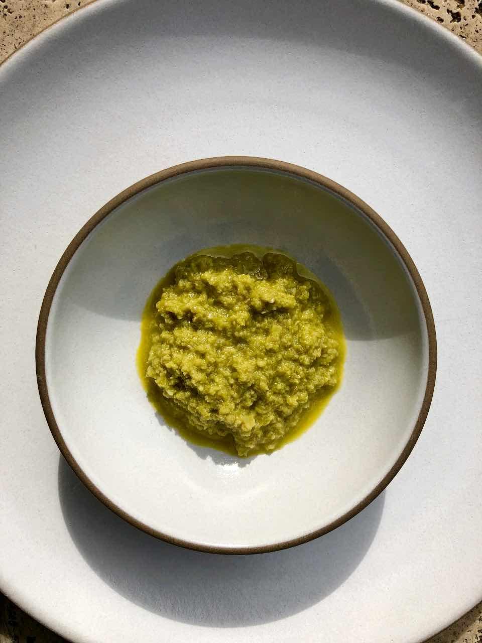 Castelvetrano olive tapenade