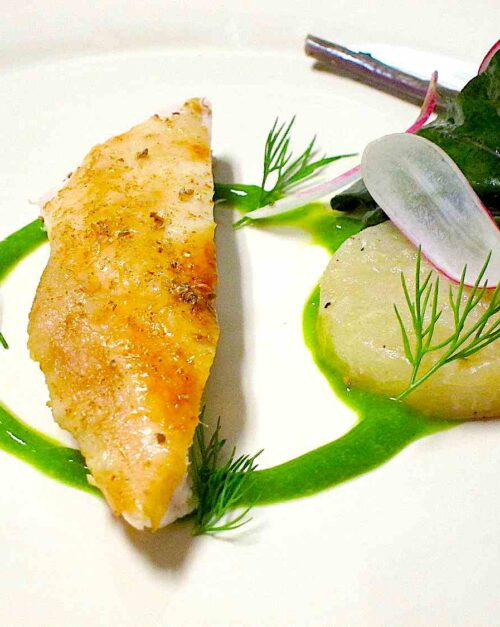 roasted chicken recipe with kohlrabi and dill