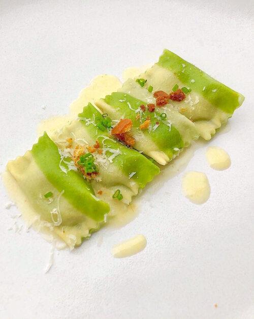 best spinach and ricotta agnolotti recipe
