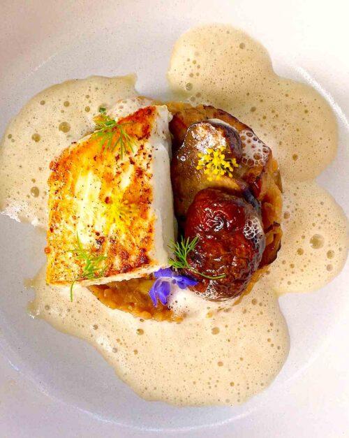 halibut recipe with porcini