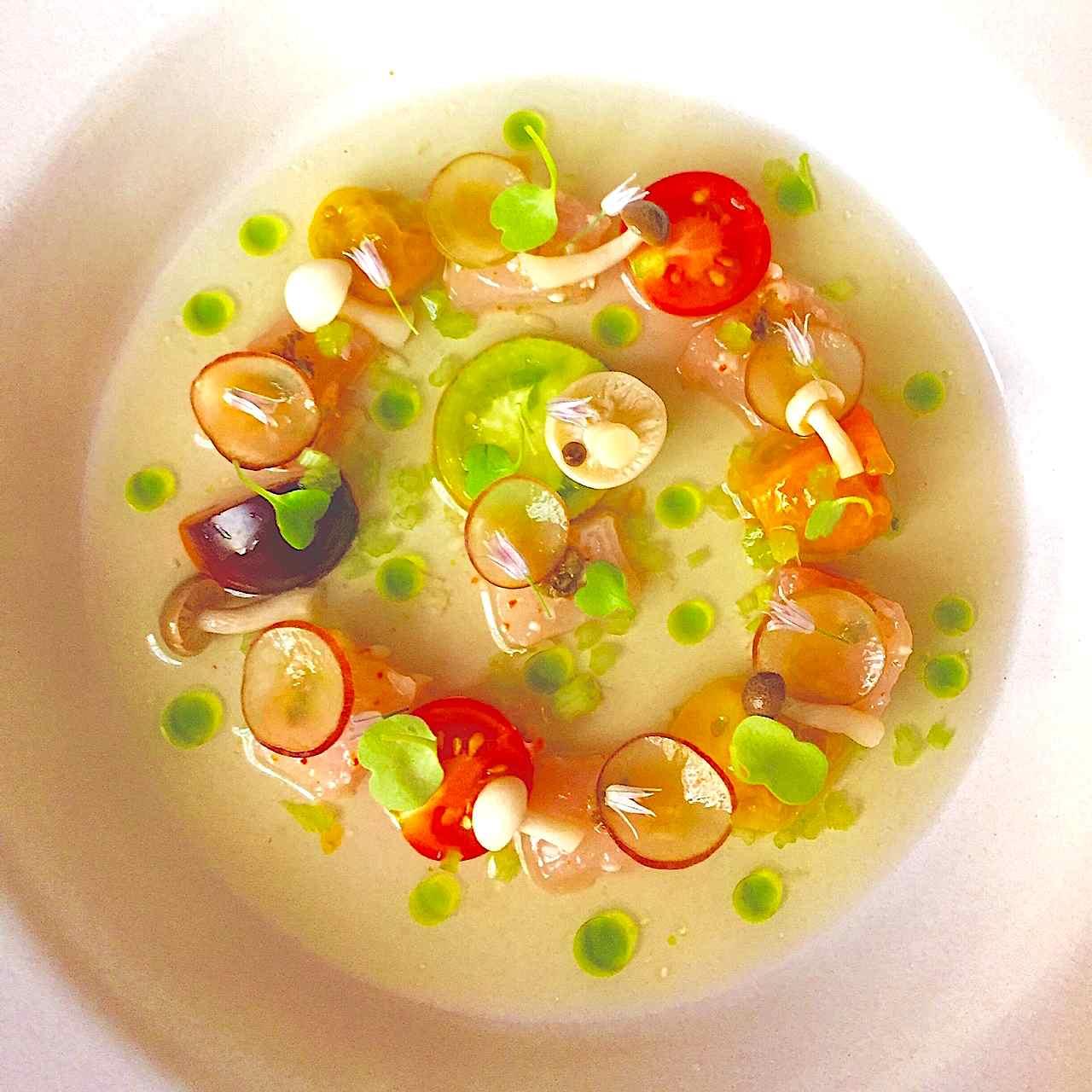 hamachi tomato water